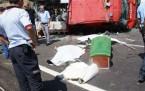 İtfaiye aracı kaza yaptı: 2 ölü, 1 yaralı