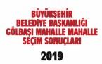 Büyükşehir Belediye Başkanlığı Gölbaşı mahalle mahalle  seçim sonuçları