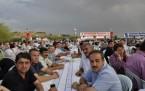 Gökçek, 7 bin kişiyle iftar açtı