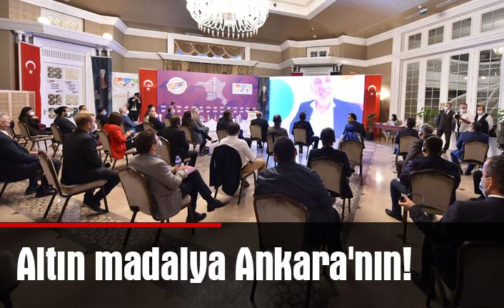 Altın madalya Ankara'nın!