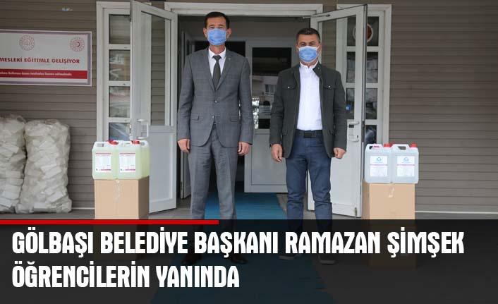 Başkan Şimşek'ten temiz okullar için destek…