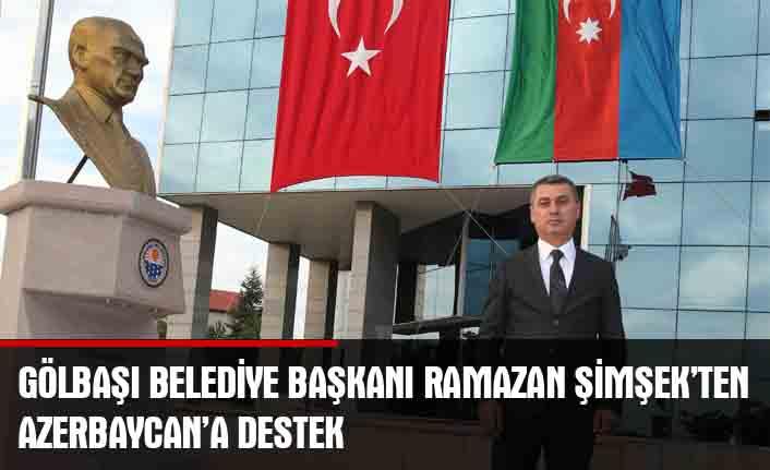 """Gölbaşı Belediye Başkanı Ramazan Şimşek """"Türk Kızılay'ı ile görüşerek çalışmaları başlattı…"""