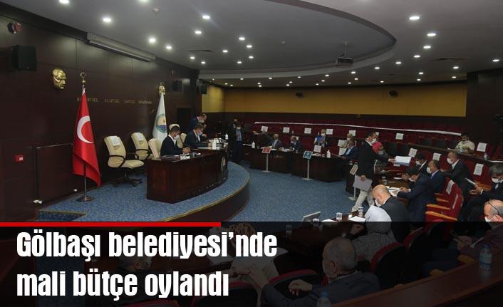 Gölbaşı Belediyesi 2021 Mali Bütçesi Meclisten Geçti…