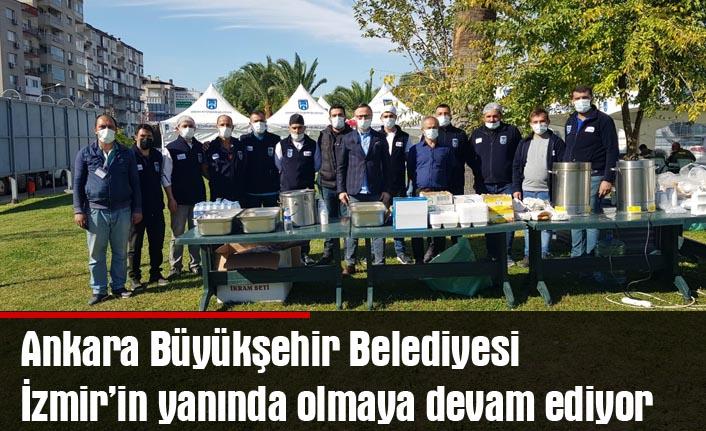 Büyükşehir İzmir'in yanında olmaya devam ediyor