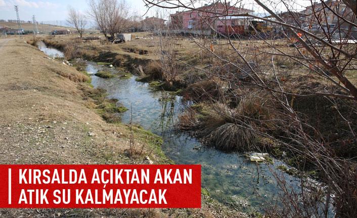 Kırsalda açıktan akan atık su kalmayacak