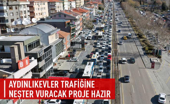Aydınlıkevler trafiğine neşter vuracak proje
