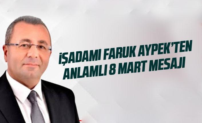 Faruk Aypek: Kadına şiddet insanlığa ihanettir