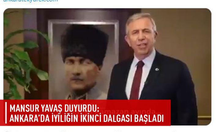 Ankara'da iyiliğin ikinci dalgası başladı