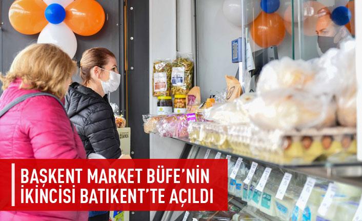 Başkent Market Büfe'nin ikincisi Batıkent'te açıldı