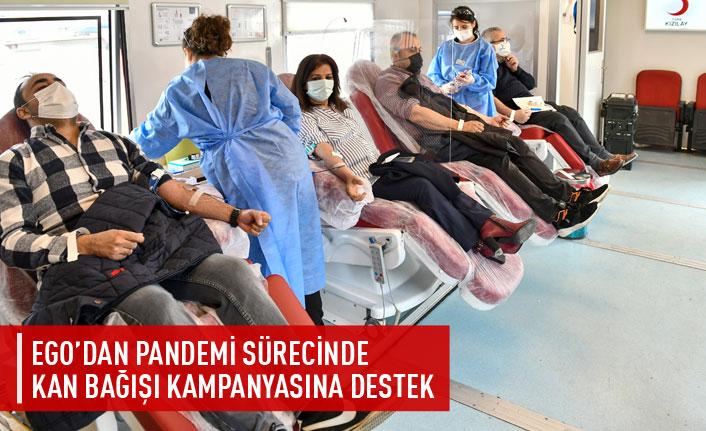 EGO'dan kan bağışı kampanyasına destek