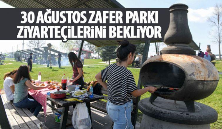 30 Ağustos Zafer Parkı ziyaretçilerini bekliyor
