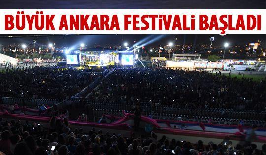 7. Uluslararası Büyük Ankara Festivali başladı