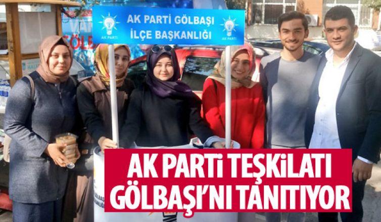 AK Parti Gölbaşı İlçe Teşkilatı Gölbaşı'nı tanıtıyor