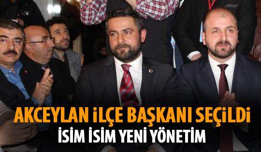 Ak Parti'de Selim Akceylan dönemi