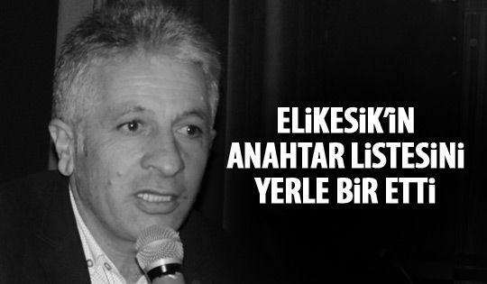 Aksakal Elikesik'in listesini deldi