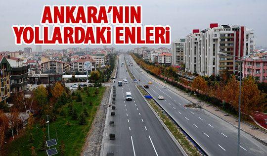 Ankara Büyükşehir Belediyesi yol çalışmalarına devam ediyor