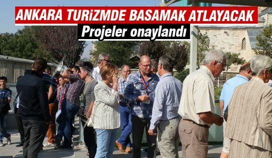 Ankara Büyükşehir Belediyesi'nden turizm için büyük adım