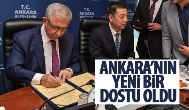 Ankara-Guanco şehri arasında dostluk anlaşması
