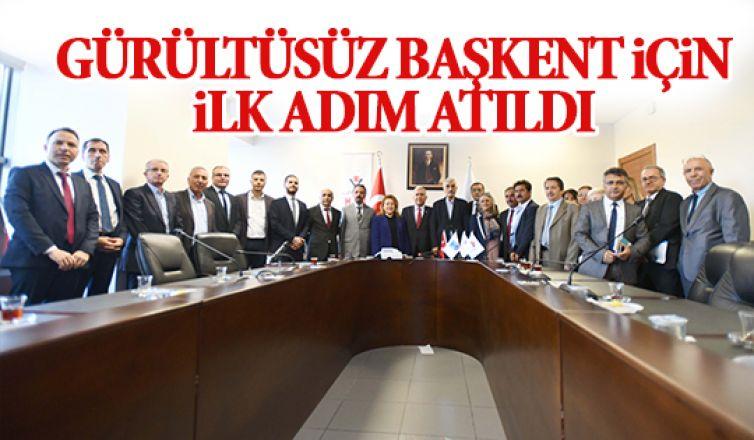 """""""Ankara Gürültü Eylem Planı"""" için protokol imzalandı"""