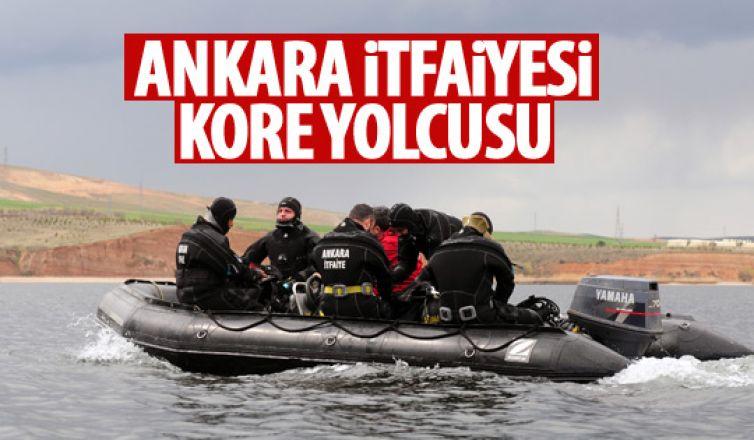 Ankara İtfaiyesi Kore yolcusu