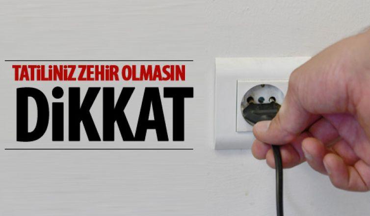 Ankara İtfaiyesi'nden tatil ve bayram uyarısı