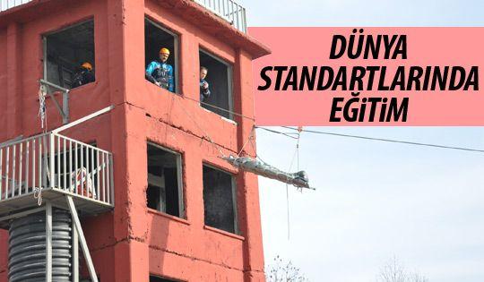 Ankara İtfaiyesi'ne özel eğitim
