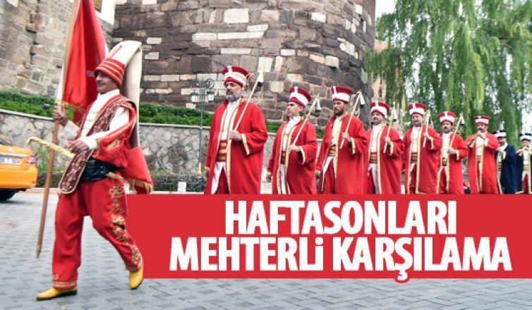 Ankara Kalesi'nde mehter çoşkusu