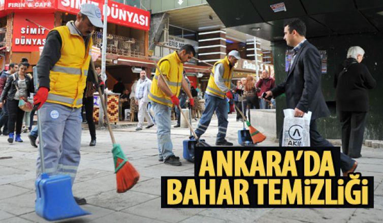 Ankara köşe bucak temizleniyor