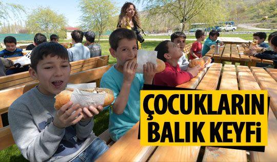 Ankara Sokaklarında Çalışan Çocuklar Merkezi'nden çocuklara balık pikniği