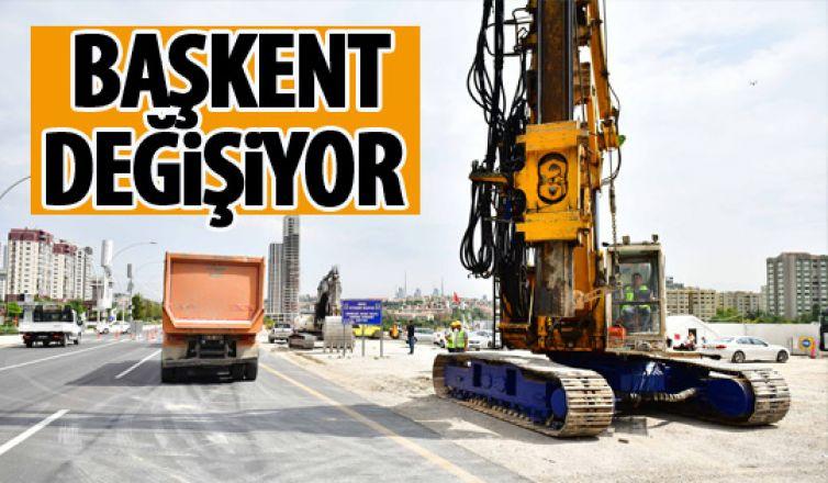 Ankara'da çalışmalar tüm hızıyla sürüyor!