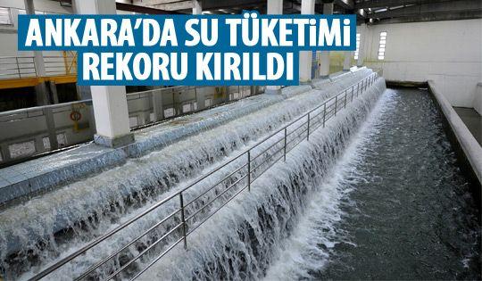 Ankara'da rekor kırıldı