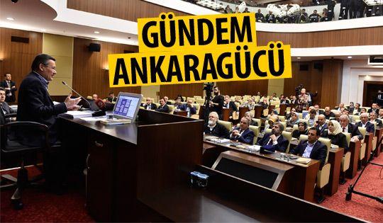 Ankaragücü Belediye Meclisi'nde görüşüldü