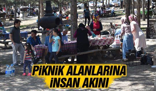Ankaralılar piknik alanlarını doldurdu