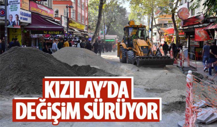 Ankara'nın göbeğinde değişim devam ediyor!
