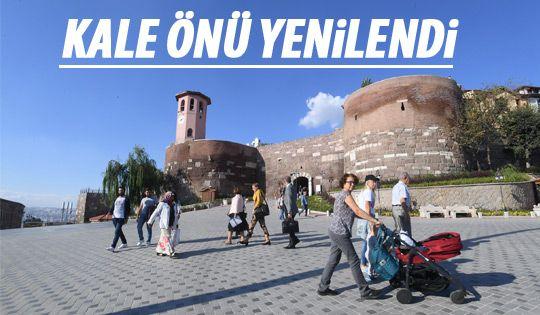 Ankara'nın simgesi yenilendi