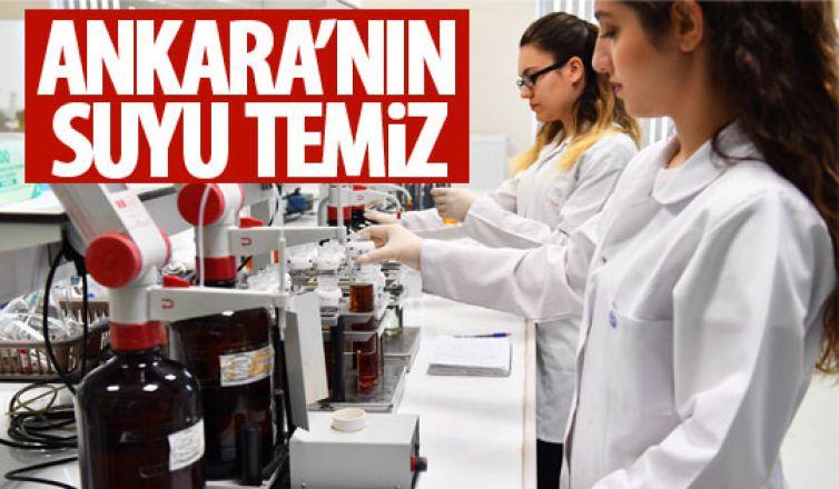 Ankara'nın suyu temiz!