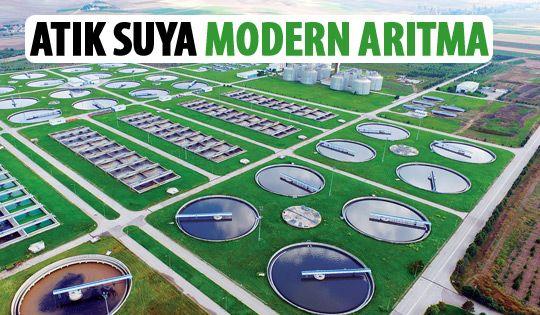 Ankara'ya modern arıtma tesisi
