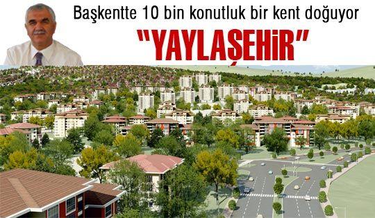 Ankaraya yeni bir şehir