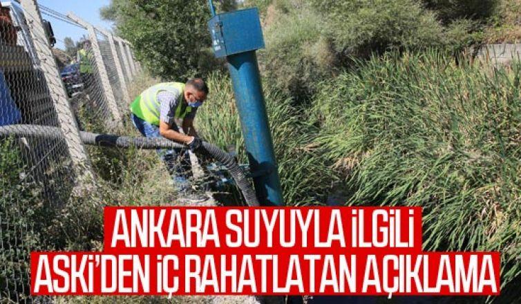 ASKİ'den tehlikeli kimyasal atık açıklaması: Ankara'nın içme suyu içme suyunda kirlilik yok