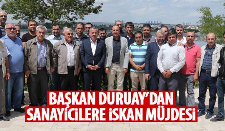 Başkan Duruay, Gölbaşı Sanayiciler Genel Kurulu'nda konuştu