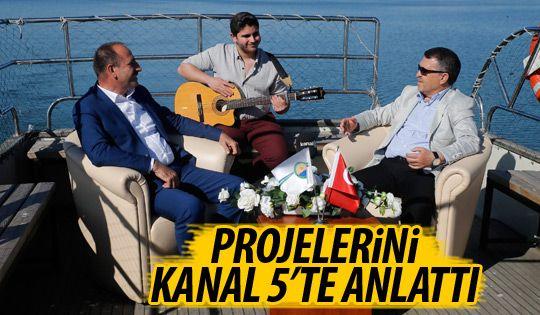 Başkan Duruay Kanal 5'in konuğu oldu