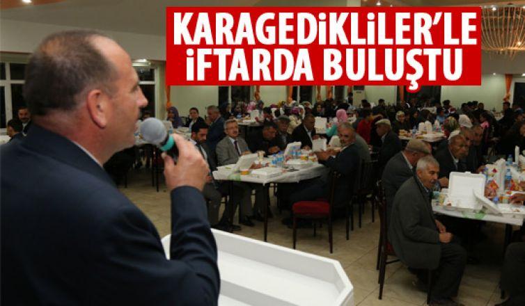 Başkan Duruay Karagedikliler'le iftar yaptı