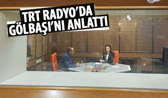 Başkan Duruay TRT Haber Radyo'ya konuk oldu
