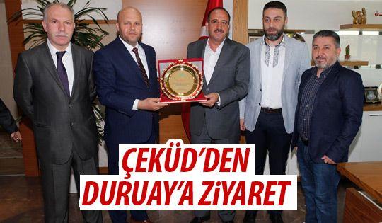 Başkan Duruay'a ziyaret
