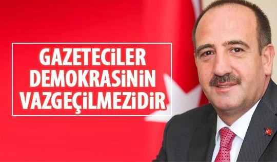 Başkan Duruay'dan Gazeteciler Günü mesajı