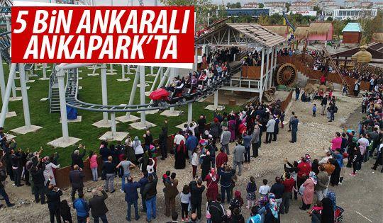 Başkan Gökçek Ankaralıları ANKAPARK'ta ağırladı