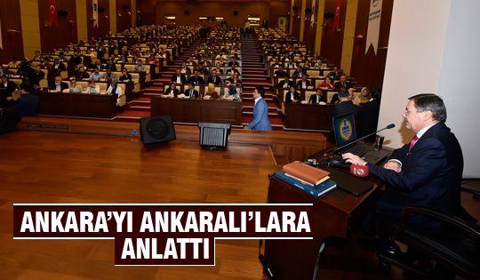 Başkan Gökçek, Ankara'yı gençlerle tartışıyor