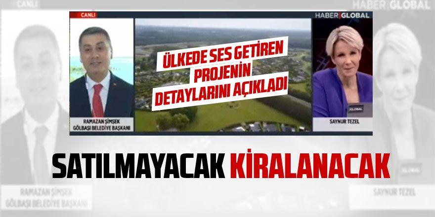 Başkan Şimşek İdeal Cumhuriyet Köyü projesinin detaylarını açıkladı