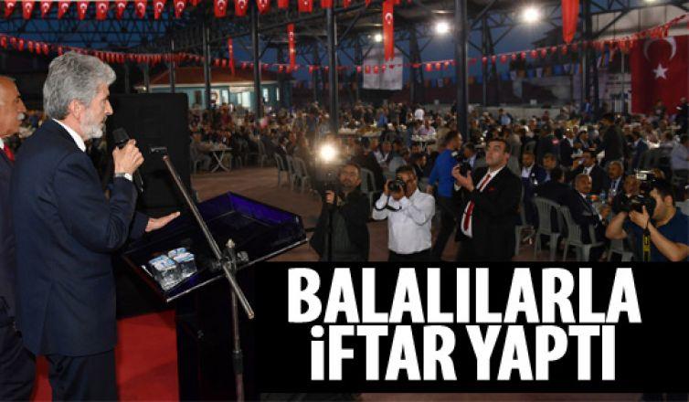 Başkan Tuna Bala'da iftar açtı