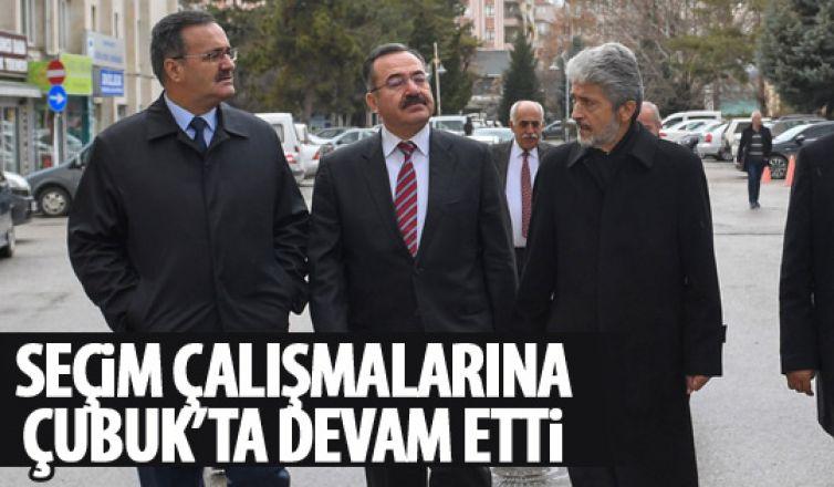 Başkan Tuna Çubuk'ta